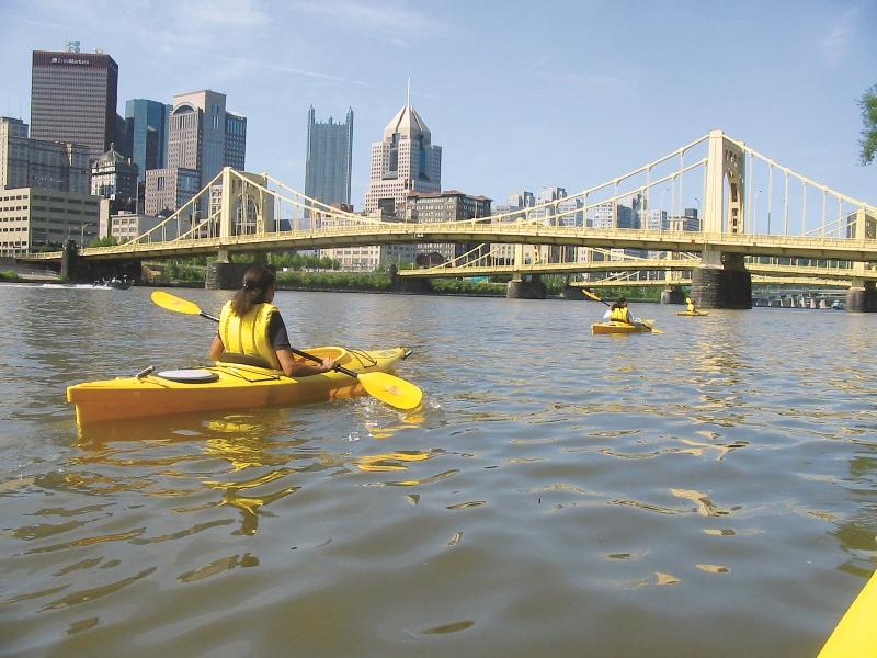 Kayak Pittsburgh copyright Kayak Pittsburgh/VisitPittsburgh