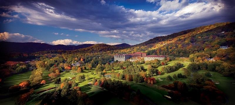 North Carolina Grove Park Inn Aerial © VisitNC.com