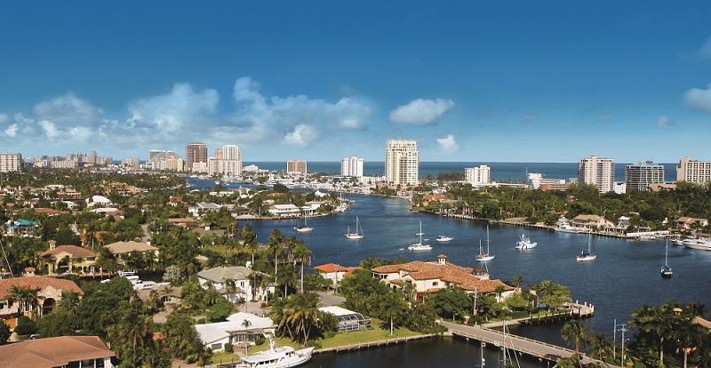Das Venedig Floridas © Greater Fort Lauderdale CVB