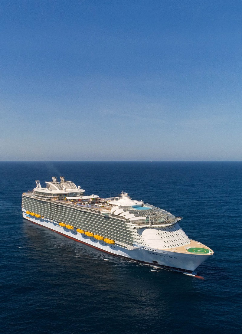 Schiff der Superlative: Die Symphony of the Seas © Press Center Royal Caribbean International