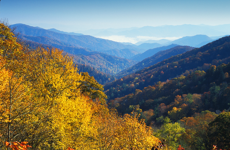 Der Smoky Mountains National Park in North Carolina, ©VisitNC.com