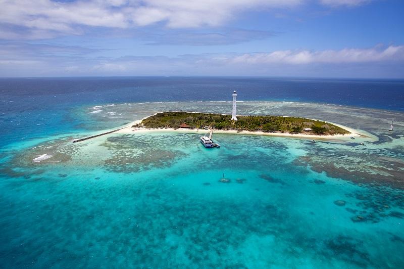 Der Leuchtturm Amédée auf Neukaledonien © John Carter/ NCTPS