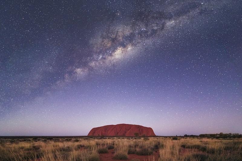 Der Ulkuru Rock im Northern Territory von Australien, © @tscharke (Luke Tscharke)