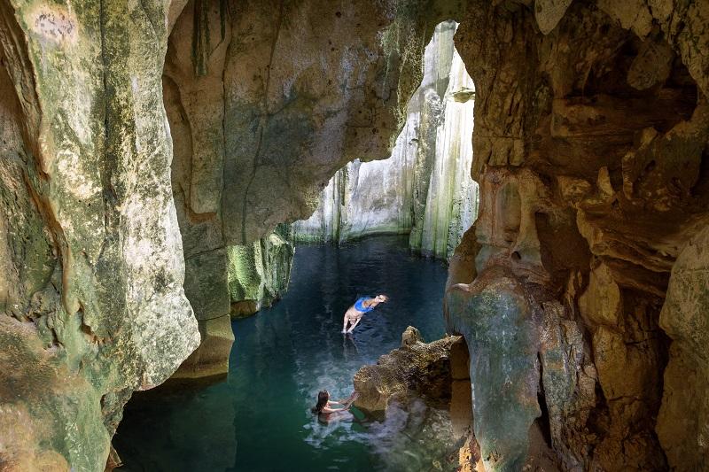 Sawa-i-Lau-Höhlen © Tourism Fiji