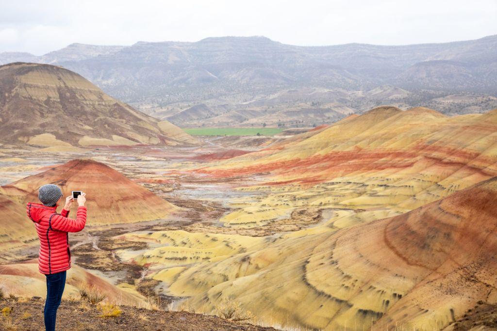 Die Painted Hills in Oregon