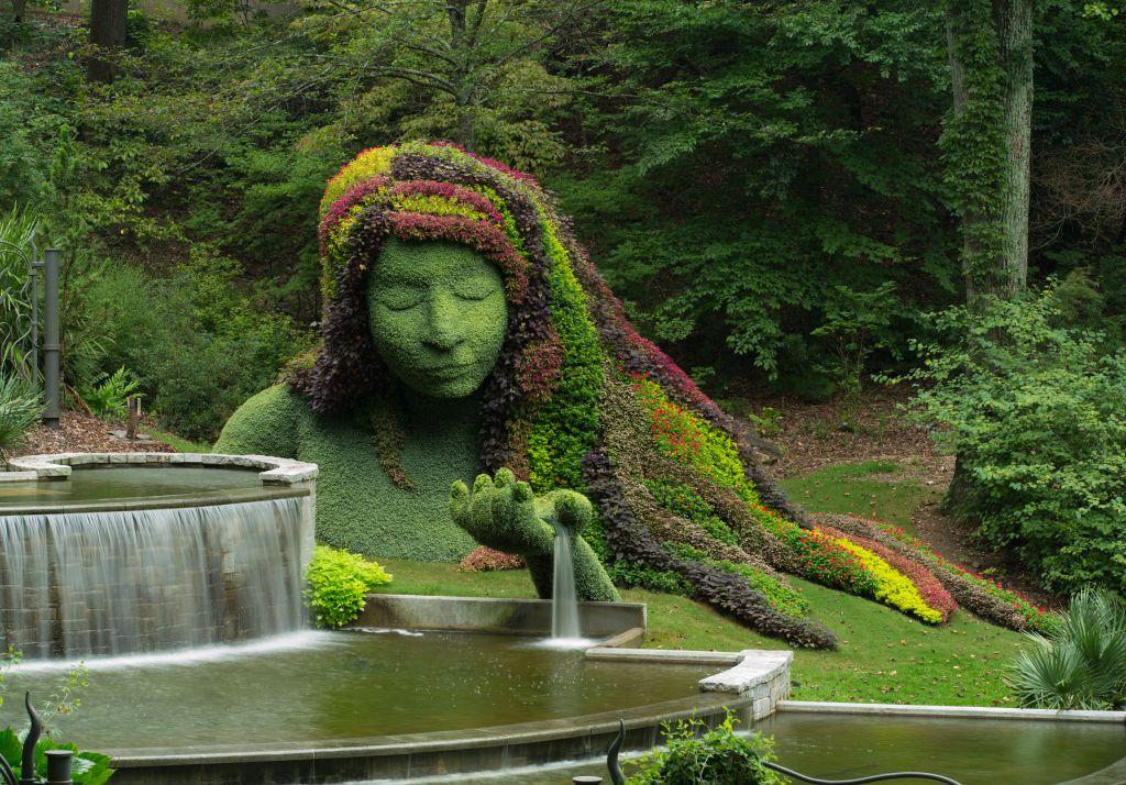 Der Atlanta Botanical Garden ist eine urbane Oase in Georgias Hauptstadt und beherbergt unter anderem eine der weltweit größten Orchideensammlungen und die größte permanente Ausstellung an Werken des Glaskünstlers Dale Chihuly in einem öffentlichen Garten.