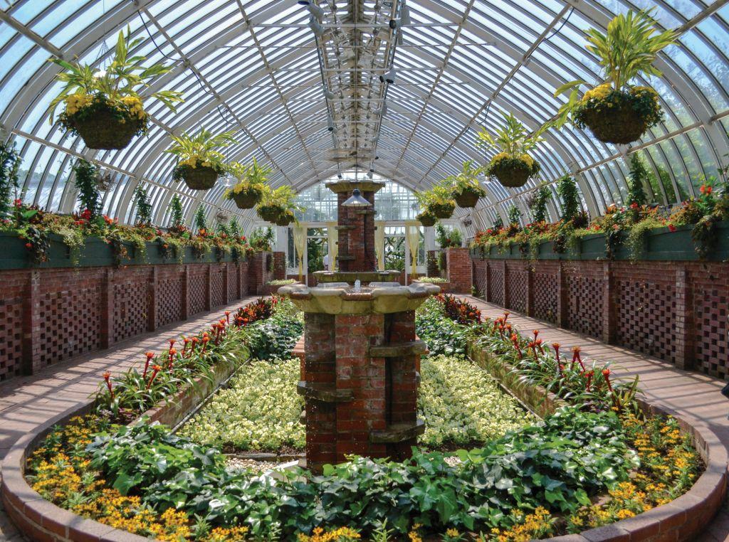 Seit 1893 ein Gartenerlebnis von Weltklasse und eine grüne Oase inmitten von Pittsburghs pulsierendem Stadtteil Oakland: Die Rede ist vom Phipps Conservatory and Botanical Garden.