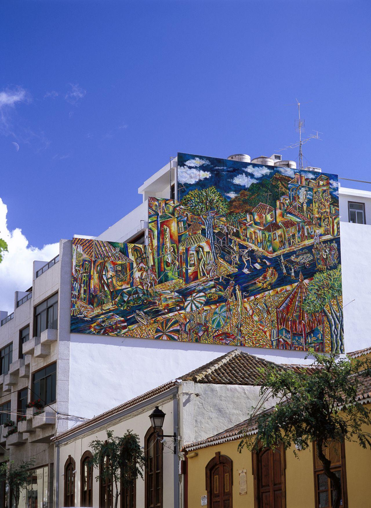 """Los Llanos de Aridane - Die Architektur der heimlichen Hauptstadt der """"Isla Bonita"""" ist jung, modern und innovativ."""
